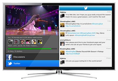 HbbTV-social-networks