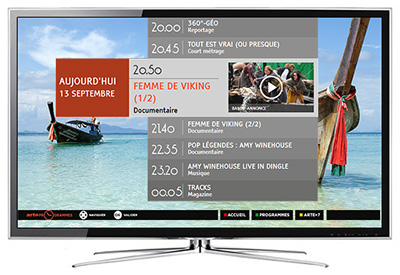 HbbTV Enhanced EPG