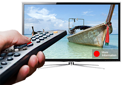 HbbTV red-button example