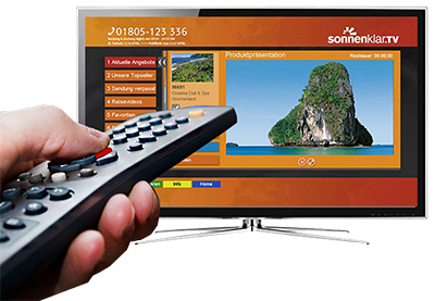 HbbTV red-button example 2