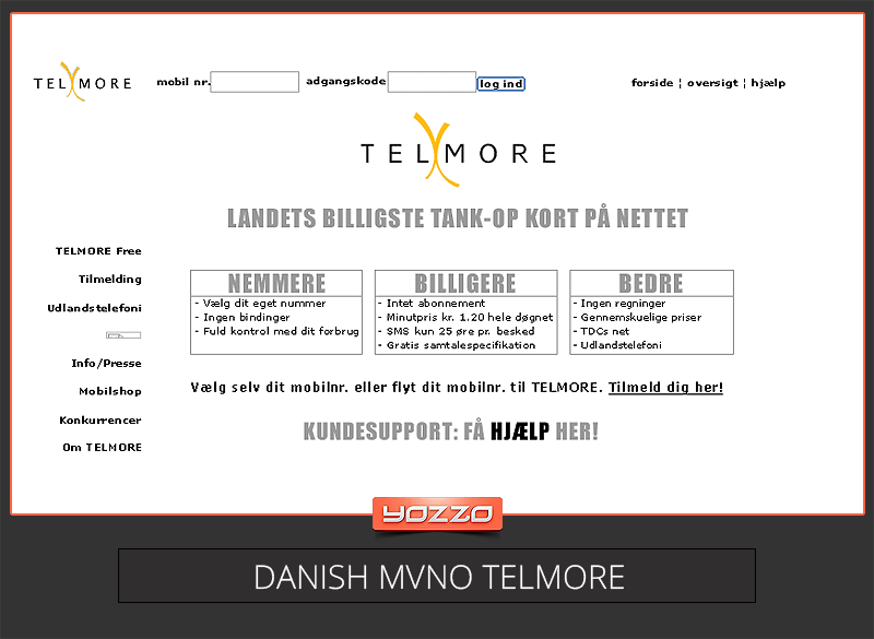 Telmore Danish MVNO