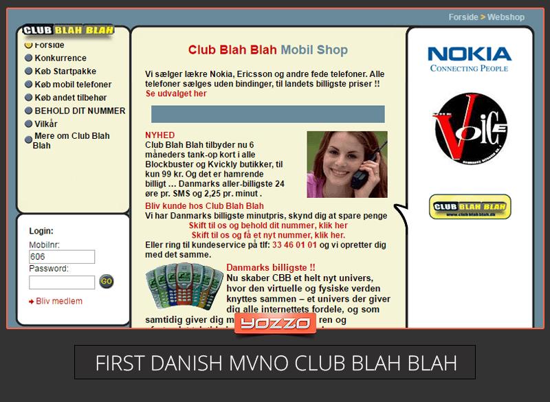 Danish MVNO club blah blah