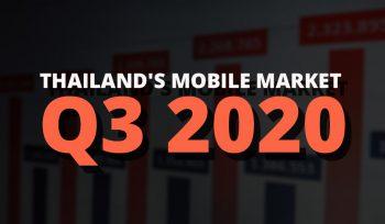 Thailand's Mobile Market Q3 2020