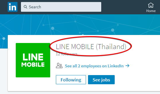 LINE-Mobile-Thailand-Company