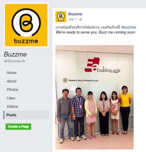 MVNO Buzzme Thailand Facebook