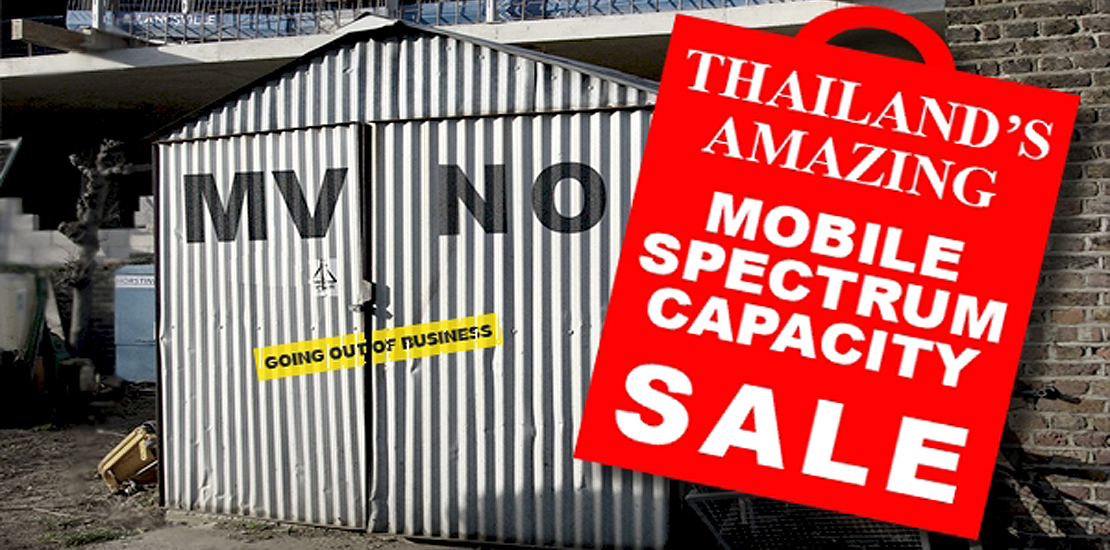 Thailand's Amazing Mobile Spectrum Capacity Sale