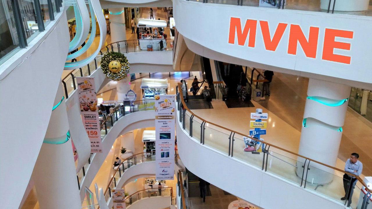 MVNE Example The MVNE builds a virtual mall